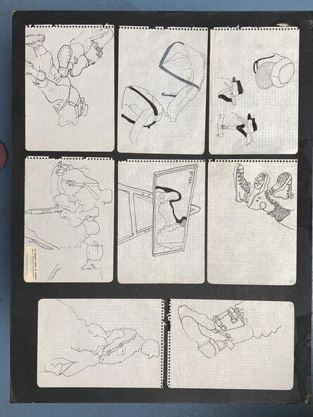 Antoni Miralda, 'Cuaderno Castillejos #7', 1965