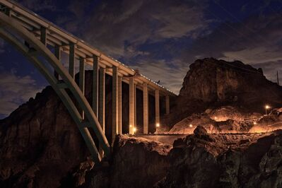Jamey Stillings, 'Bridge at Nevada Hairpin, July 28', 2010