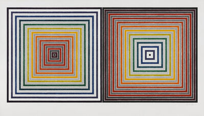 Frank Stella, 'Double Gray Scramble', 1973