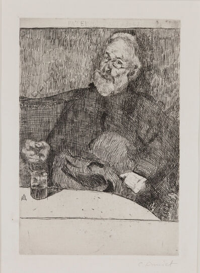 Cuno Amiet, 'Herrenporträt', not dated