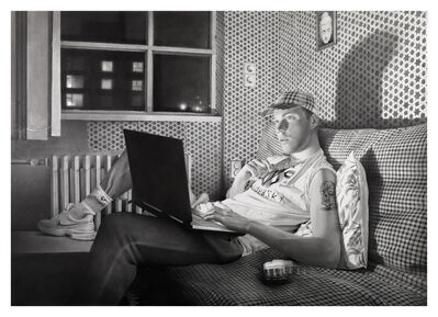 David Haines, 'Boy with Laptop', 2013