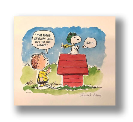 Charles M. Schulz, 'Flying Ace', 1993