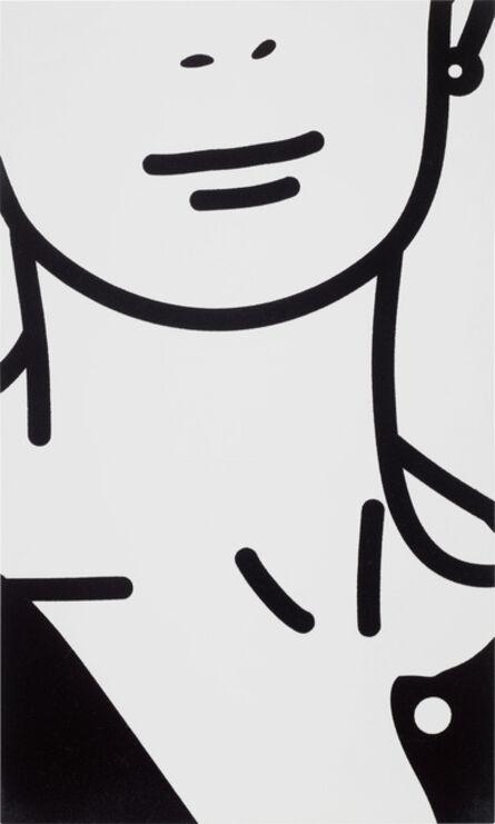 Julian Opie, 'This is Monique (flocking). 13.', 2004