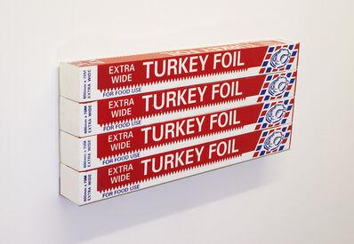 Gavin Turk, 'Turkey Foil Box x 4', 2007