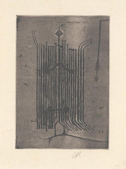 Geoffrey Clarke, 'Man (Complexities of Man III)', 1950