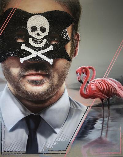 David Uessem, 'Wallstreet Pirate', 2018