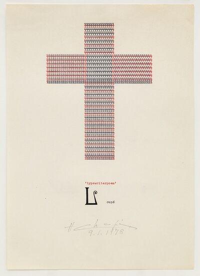 Henri Chopin, 'Loupé', 1978