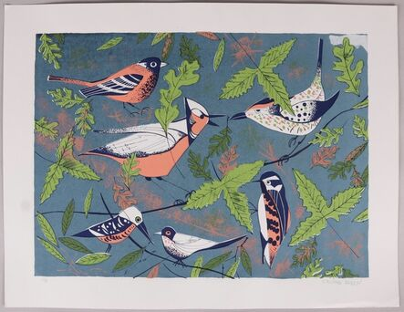 Edward Arden, 'Birds', 1960