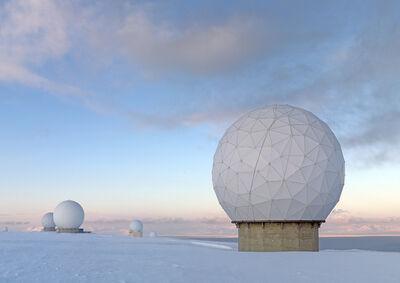 Vincent Fournier, 'Kjell Henriksen Observatory #2 [KHO], Adventdalen, Spitsbergen Island, Norway, 2010.', 2010