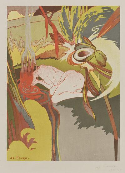 Georges de Feure, 'La source du mal [The Spring of Evil]', 1894