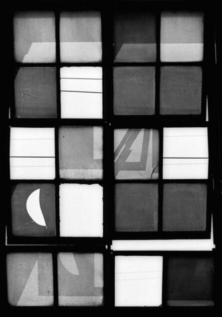 German Lorca, 'Mondrian Window, 1960', year print 1970s