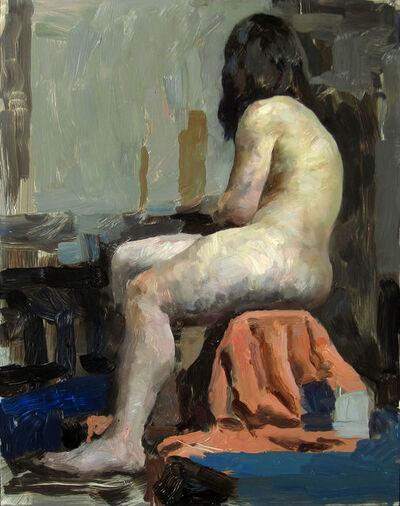 Hollis Dunlap, 'Figure in Orange and Blue', 2015