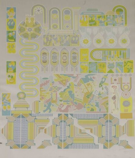 Eduardo Paolozzi, 'Who is Afraid of Sugar Pink and Lime Green', 1971