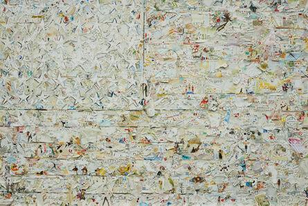 Vik Muniz, 'White Flag, after Jasper Johns from Pictures of Magazines 2', 2012