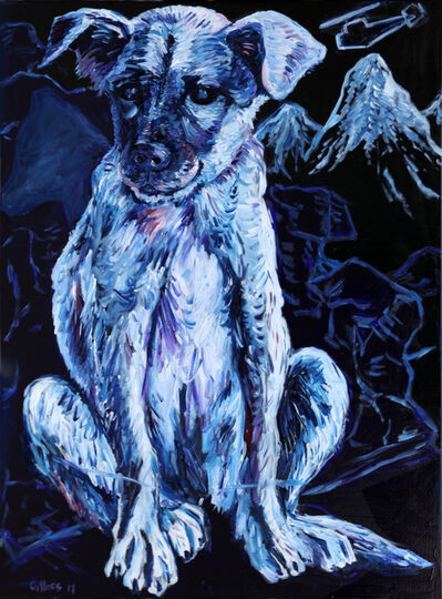 George Gittoes, 'Kuchi Puppy Tora Bora'