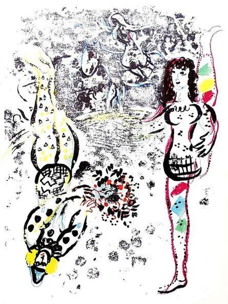 "Marc Chagall, 'Original lithograph ""Le Jeu des Acrobates"" by Marc Chagall', 1963"