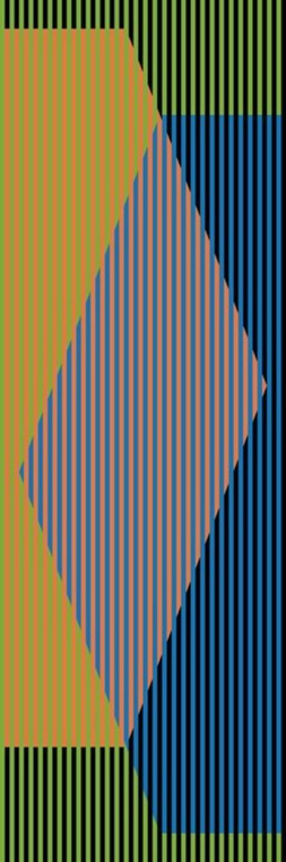 Carlos Cruz-Diez, 'Color Aditivo Triangular Tres', 2010