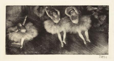 Edgar Degas, 'Three Ballet Dancers ', c. 1878-80