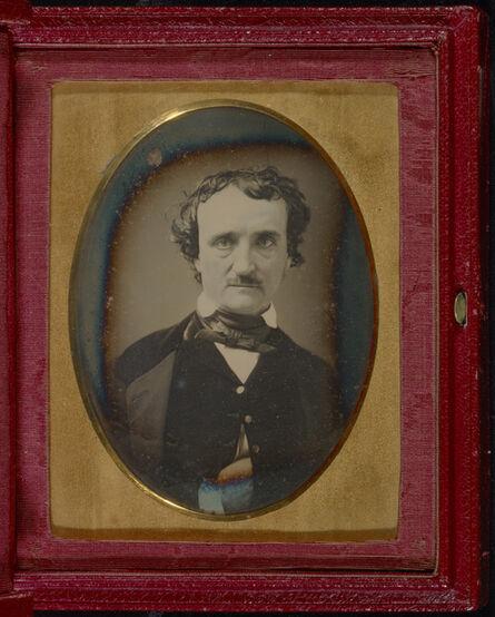 Unknown Artist, 'Portrait of Edgar Allan Poe', late May, early June, 1849