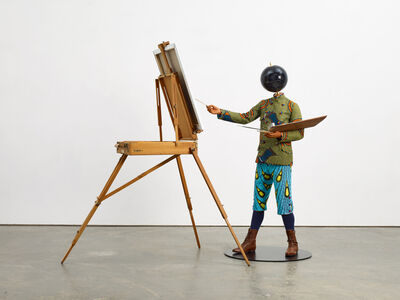 Yinka Shonibare CBE, 'Planets in my Head, Young Artist', 2018