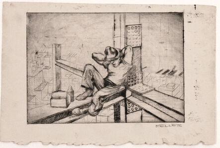 Charles Keller, 'Lunch Time', 1935