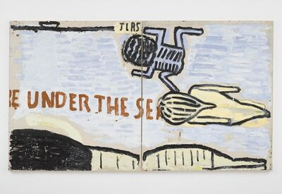 Rose Wylie, 'Under the Sea', 2020