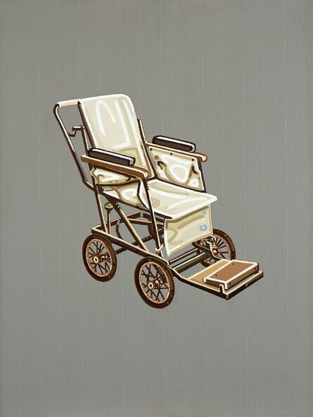 Julie Roberts, 'Canvas Wheelchair', 2002