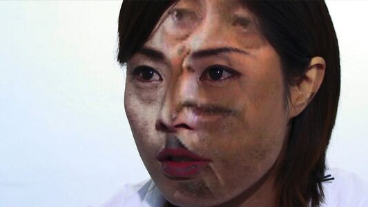 Chikako Yamashiro, 'Your voice came out through my throat', 2009