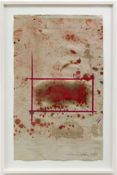 Hermann Nitsch, 'Ohne Titel', 1987