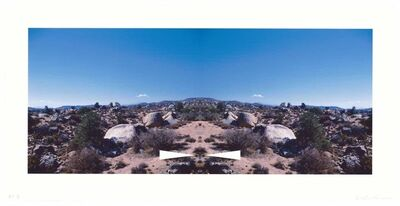Ed Ruscha, 'Bow-Tie Palm Springs (Bow-Tie Landscapes)', 2003