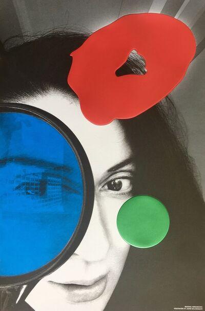 John Baldessari, 'Marina Abramovic', 2018