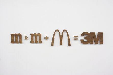 Nic Hess, 'm&m + M=3M', 2010