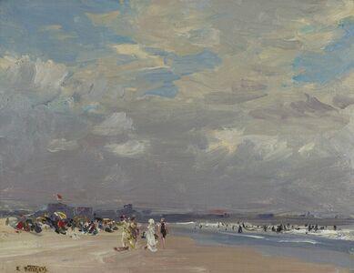 Edward Henry Potthast, 'Rockaway Beach', ca. 1910
