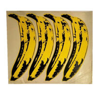 "Andy Warhol, 'SET OF 4- ""The Velvet Underground Banana Stickers"", Original Unpeeled Banana Stickers Designed by Warhol for the  Debut Album ""The Velvet Underground & Andy Warhol"", Extremely RARE', 1967"