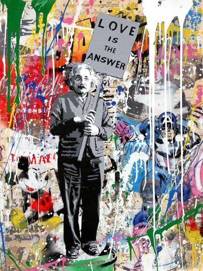 Mr. Brainwash, 'Einstein - Love Is The Answer', 2017