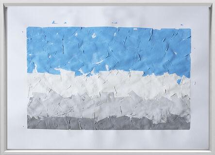 Rodrigo González Castellanos, 'Desgaste de la psicología del color, Frío', 2020