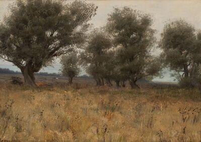 Alexander Harrison (1853-1930), 'Olive Trees', 1909