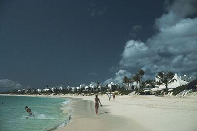 Slim Aarons, 'Anguilla Beach resort', 1922