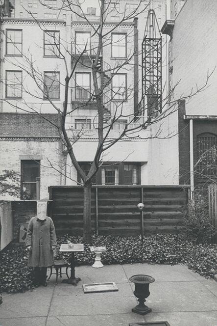 Inge Morath, 'Saul Steinberg with Mask', New York 1959
