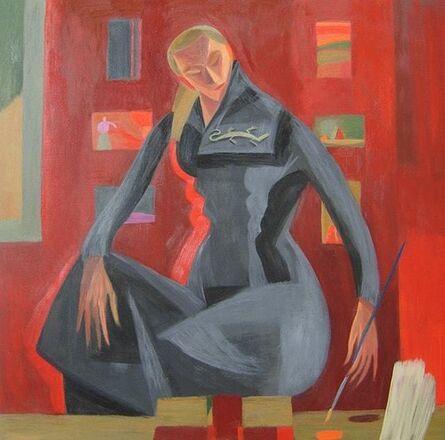 Mary Mabutt, 'Red Studio Portrait', 2011