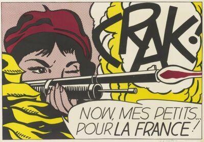 Roy Lichtenstein, 'Crak!', 1964