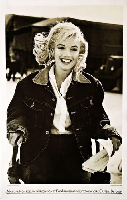 Eve Arnold, 'Marilyn Monroe: An Appreciation, Castelli Uptown. Unframed. ', 1987