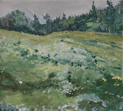 Dorothy Knowles, 'Green Pastures'
