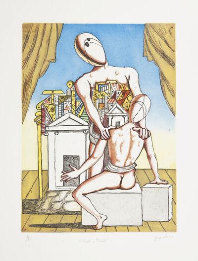 Giorgio de Chirico, 'Oreste e Pilade, Second version', 1970