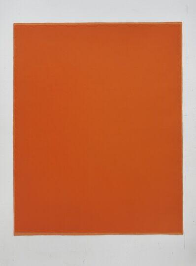 Wu Shanzhuan & Inga Svala Thórsdóttir, '4 x 5 Perimeter of Little Fat Flesh - Orange', 2013