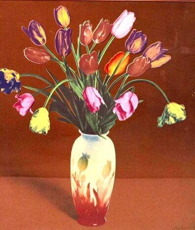 Francesco Scavullo, 'Tulips in Vase, Silkscreen Pop Art', 1980-1989