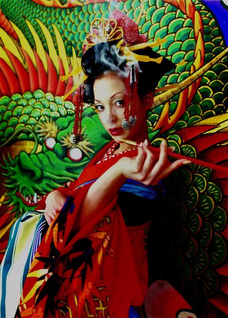 Mika Ninagawa, 'MS-Sakuran-06-22-B0-1 さくらん', 2006