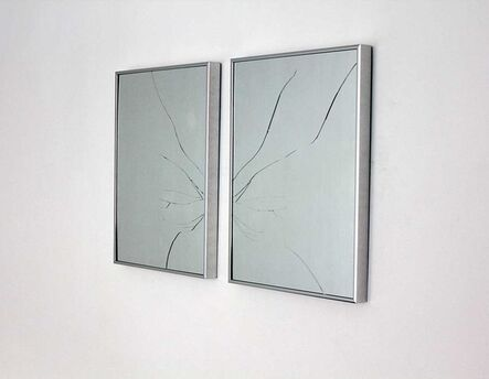 Glenda Leon, 'Mirage (Diptych)', ca. 2010