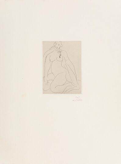 Henri Matisse, 'Nu Accroupi, Une Cordeliere Nouee Autour du Cou', 1931