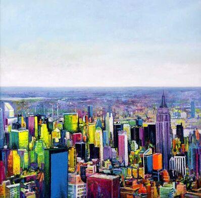 Ulpiano Carrasco, 'Flight in New York', 2021